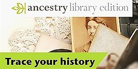 Ancestry Library Online Taster Session tickets