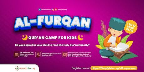 Al-Furqan Qur'an Camp for Kids tickets