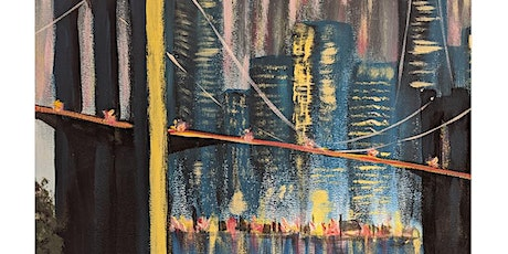 Let's paint Brooklyn Bridge, in person, at The Griffin Pub, Rugby tickets