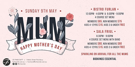 Mothers Day tickets