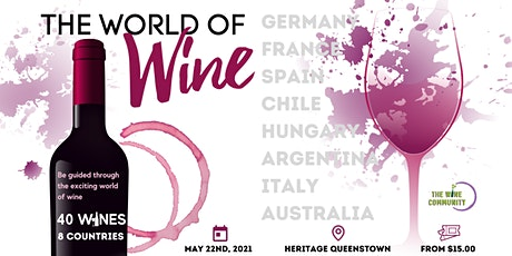 Discover The World of Wine, Queenstown tickets