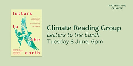 Climate Reading Group:  Letters to the Earth tickets