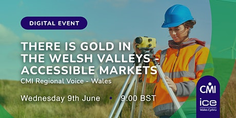 There is gold in the Welsh valleys - Accessible Markets tickets