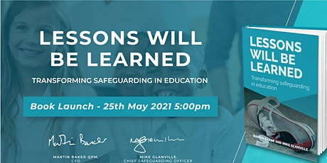 Lessons Will Be Learned - Official Book Launch Event tickets