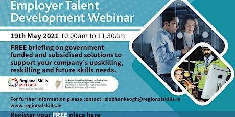 Employer Talent Development Webinar tickets