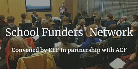 School Funders' Network: What's 2021 really been like for schools? tickets