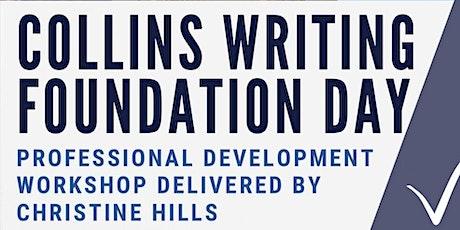 Teacher Talk - Collins Writing Foundation Day at Marsden State School tickets