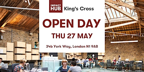 Open Day - Experience the Impact Hub! tickets