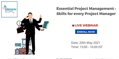 [Webinar] Essential Project Management Skills for Every Project Manager tickets
