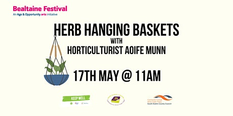 Hanging Herb Baskets with Aoife Munn tickets