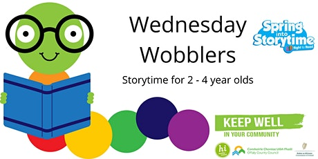 Wednesday Wobblers Storytime:  12th May tickets
