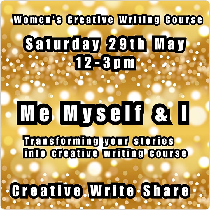 Me, Myself & I, Creative Writing Workshop with Kat Francois image