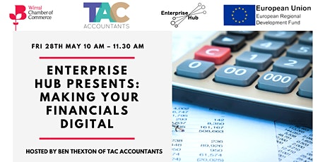 Enterprise Hub Presents - Making Your Finances Digital tickets
