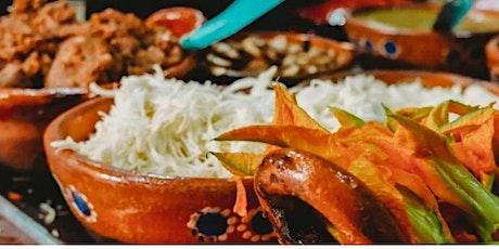 Conferencia: Alimentos Poblanos de Influencia Española entradas