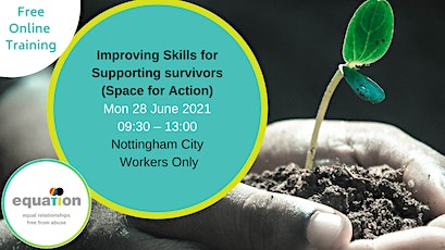 Improving Skills for Supporting Survivors (City workers) tickets