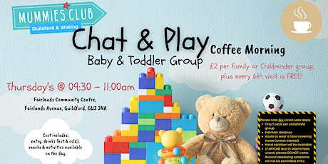 Chat & Play Parent & Baby/Toddler Group Guildford tickets