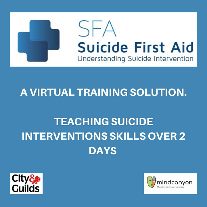 Virtual SFA: Suicide First Aid: Understanding Suicide Intervention. image