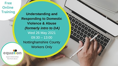 Understanding and Responding to Domestic Violence and Abuse (County workers) tickets