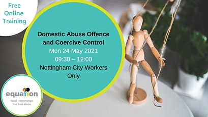 Domestic Abuse and Coercive Control (Nottinghamshire County workers) tickets