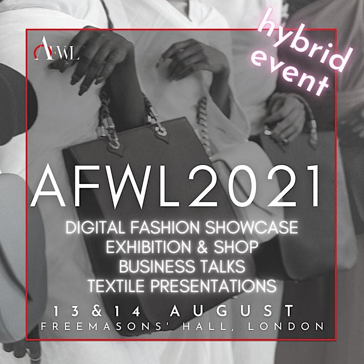 Africa Fashion Week London 2021 Hybrid Event image