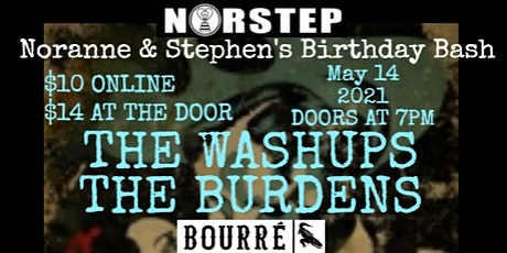 NorStep Presents:The Washups And The Burdens tickets
