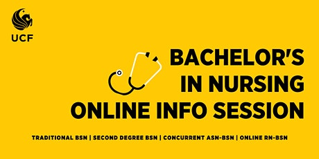 Bachelor's in Nursing Online Information Session, BSN degree (via ZOOM) tickets