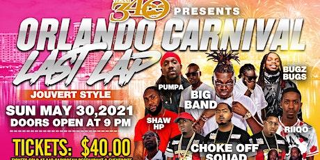 Orlando Carnival Last Lap tickets