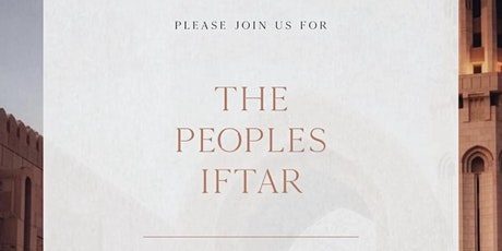 THE PEOPLES IFTAR tickets
