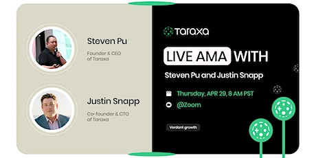Taraxa Blockchain Club: Weekly LIVE AMA! Tickets