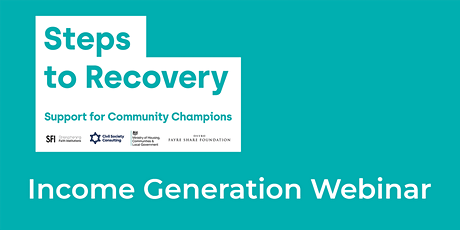 Steps to Recovery - Income Generation Webinar (July) tickets