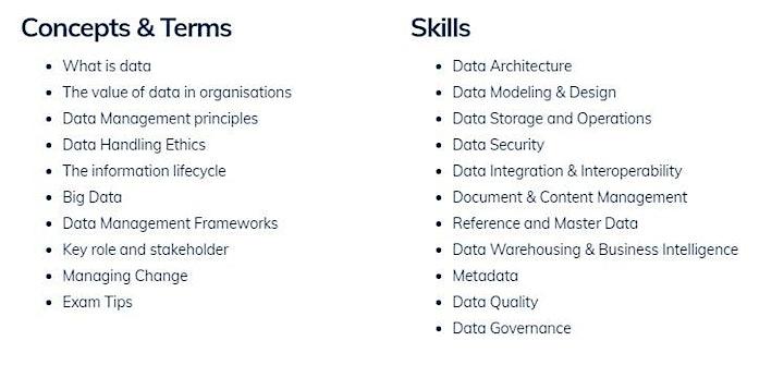 Certified Data Management Professional (CDMP) Exam Cram image
