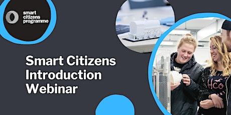 Smart Citizens Introduction Webinar tickets