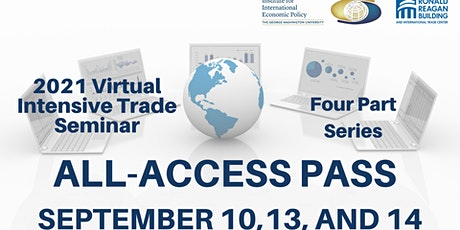 2021 Virtual Intensive Trade Seminar - Full 4-Part Package tickets