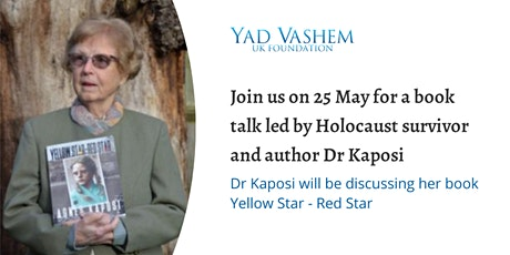 Book Club Event Yellow Star – Red Star  by Agnes Kaposi tickets