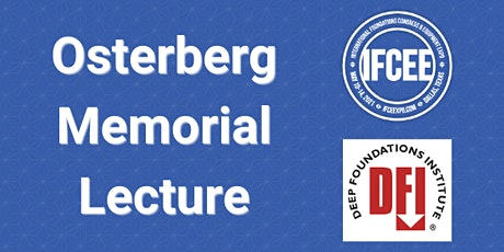 2021 Osterberg Memorial Lecture tickets