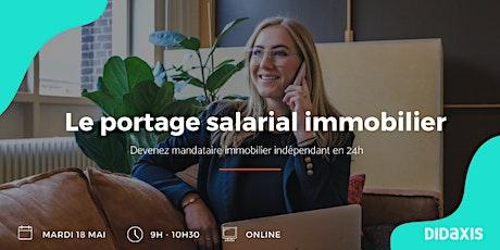 Le portage salarial pour les pros de l'immobilier tickets