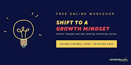 Free online workshop: Shift to a growth mindset for career professionals entradas