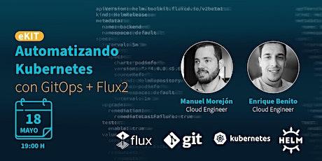 Automatizando Kubernetes con GitOps + Flux boletos