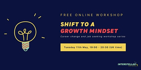 Free online workshop: Shift to a growth mindset for career professionals tickets