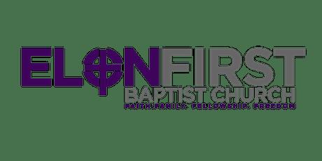 Elon First Baptist Church 5/23 10am Worship tickets