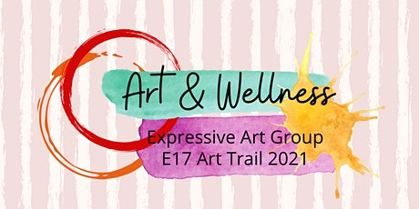 Online Expressive Art Group  Arts Trail E17. July  4th ,11th & 18th  2021 tickets