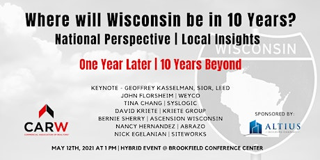 Where will Wisconsin be in 10 Years? National Perspective | Local Insights tickets