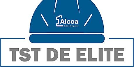TST de Elite - Módulo I: A Segurança nas estratégias da Alcoa bilhetes