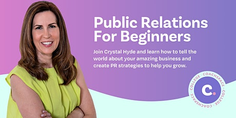 Public Relations For Beginners tickets