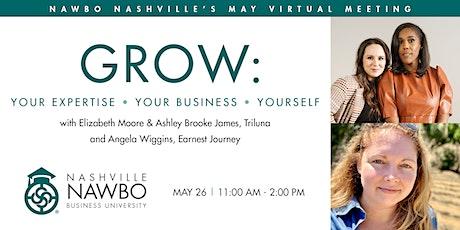 GROW: Nashville Business University tickets