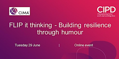 FLIP it thinking - Building resilience through humour tickets
