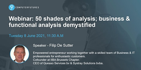 50 shades of analysis; business & functional analysis demystified tickets