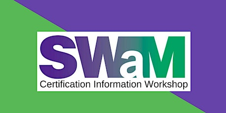 SWaM Certification Information Workshop (May 2021) tickets