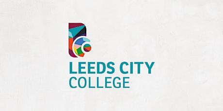 Leeds City College Open Day 26 June tickets