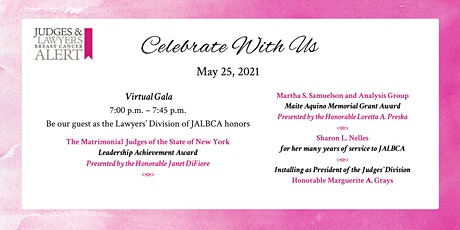 JALBCA 2021 Virtual Gala tickets